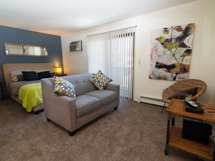 Spacious Studio Apartments at Eastland Apartments in Ketnwood MI