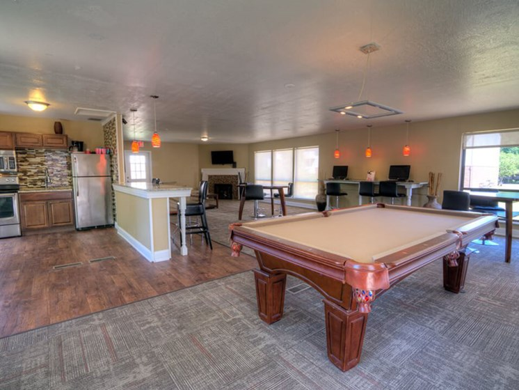 Clubhouse Community Rental at Eastland Apartments in Kentwood MI