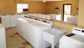 Laundry facilities at Apartments in Albuquerque