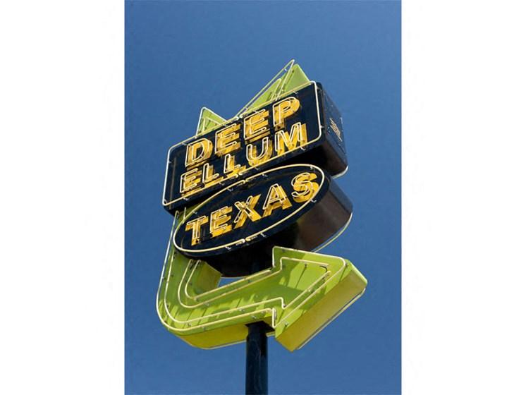 Deep Ellum Texas Sign