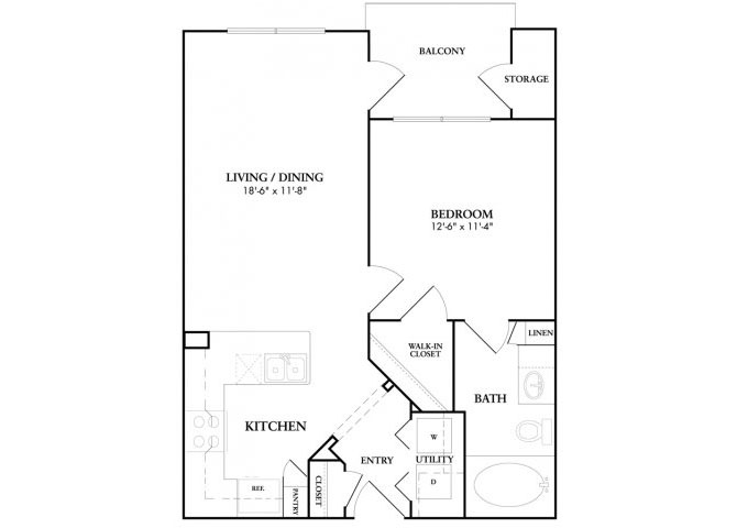 Brogden floor plan.