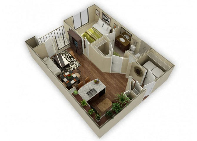 Huntley floor plan.