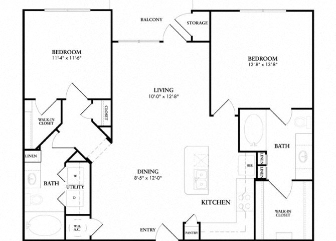 Perthshire floor plan.