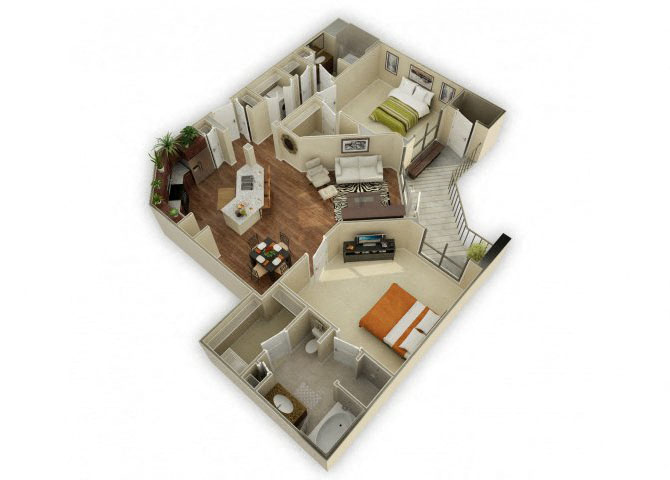 Stoneleigh floor plan.