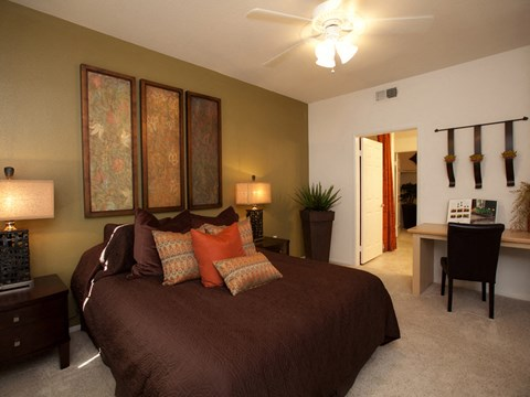 One Bedroom Apartments in Palm Desert CA -Canterra Apartments Bedroom