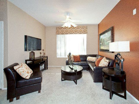 Palm Desert Apartments for Rent-Canterra Apartments Living Room