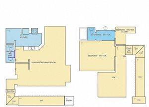The Lomond Renovated floor plan.