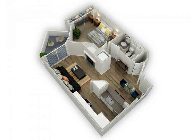 Residence C floor plan.