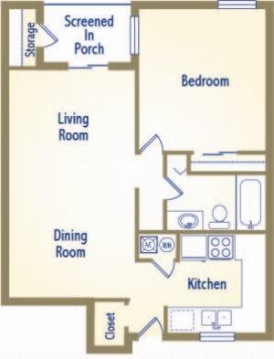 The Islander Floor Plan 2