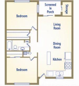 The Sundancer Floor Plan 6