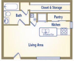 The Sundown Floor Plan 1