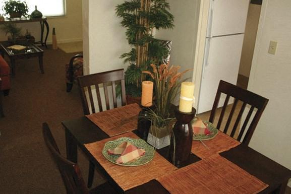Oxford Village Apartments - Allenhurst Housing - Formal Dining Room