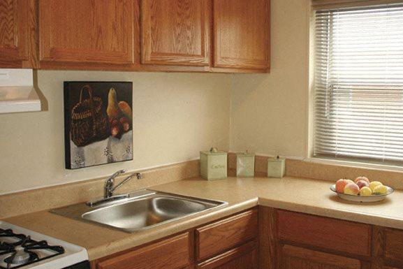 Oxford Village Apartments - Allenhurst Housing - Fully Applianced Kitchen