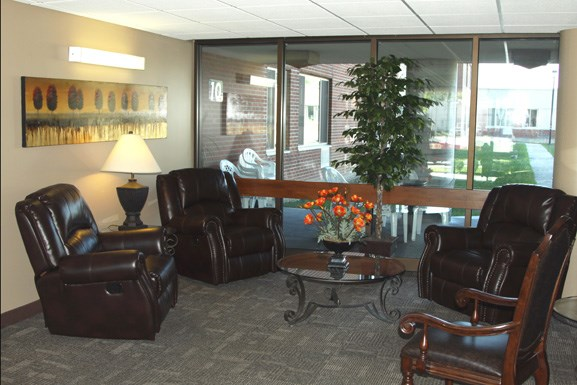 Westchester Park - Amherst Senior Housing - Common Area Lounge