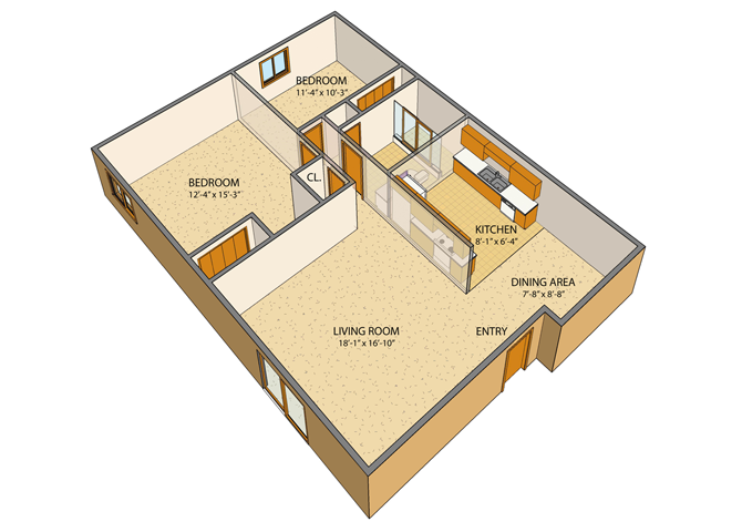 London Towne Floor Plan 2