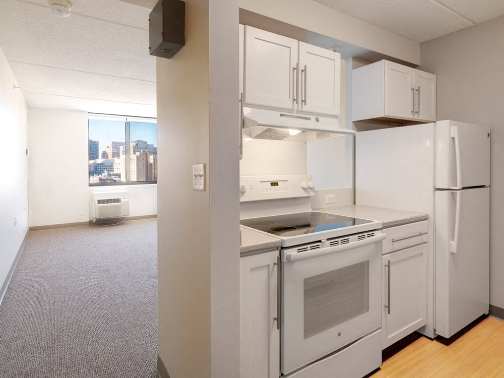 1-bedroom apartment at Quincy Tower in Boston, MA