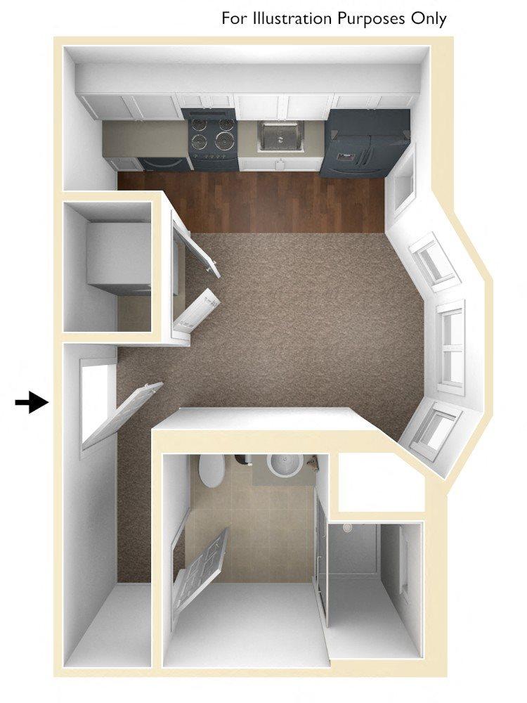 Floor Plans of Conway Court in