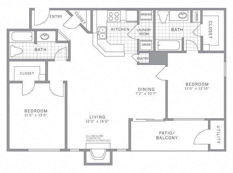 B1 Floor Plan 8