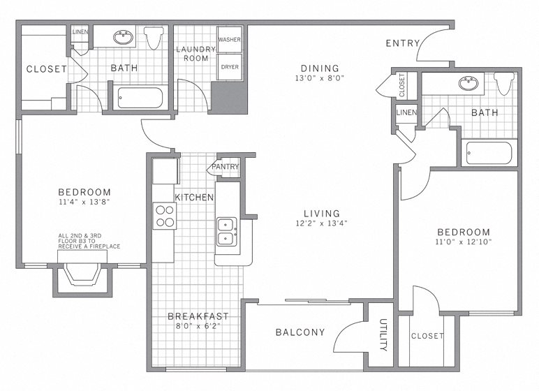 B3 Garage Floor Plan 12