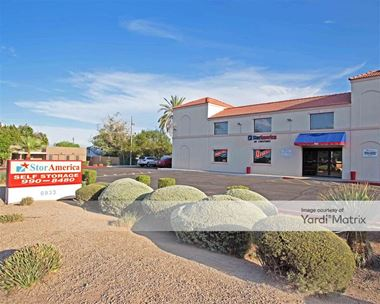 Storage Units for Rent available at 6933 East Thomas Road, Scottsdale, AZ 85251 Photo Gallery 1