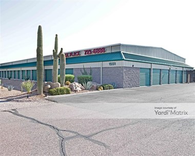Storage Units for Rent available at 1551 North Arizona Blvd, Coolidge, AZ 85128 Photo Gallery 1