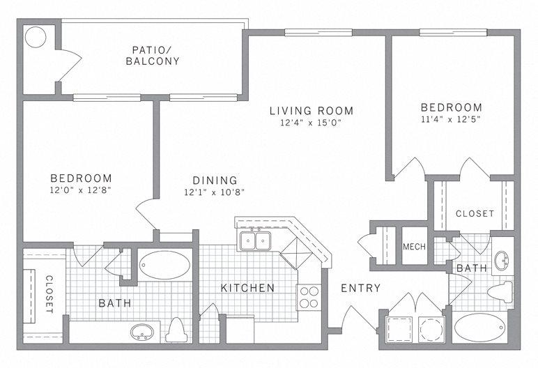 B2 Floor Plan 6