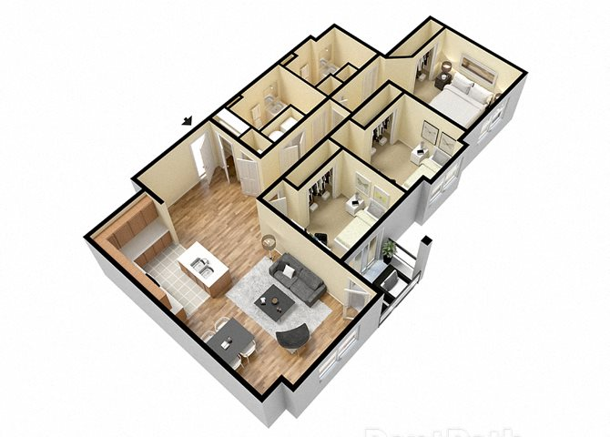 Gathland (3 Bed) Floor Plan 9