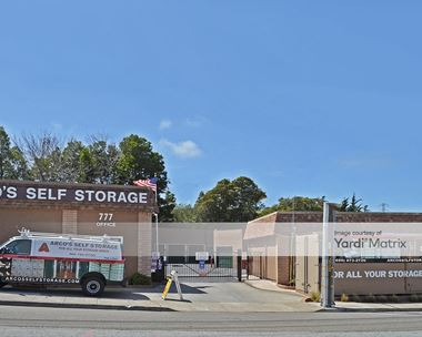 Storage Units for Rent available at 777 Glenview Drive, San Bruno, CA 94066 Photo Gallery 1