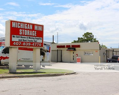 Storage Units for Rent available at 200 West Michigan Street, Orlando, FL 32806 Photo Gallery 1