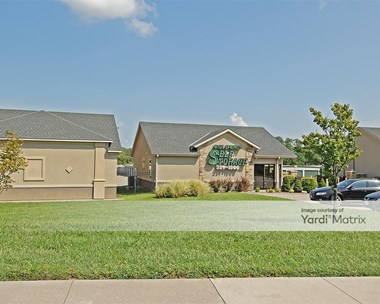 Storage Units for Rent available at 605 NE Jefferson Street, Blue Springs, MO 64014 Photo Gallery 1