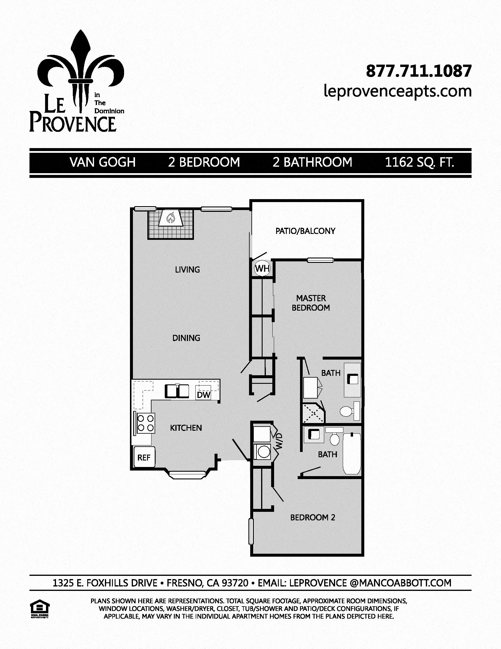 Van Gogh, Upstairs Floor Plan 5