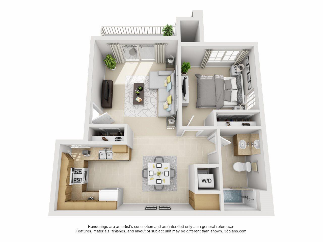 Aspen, Downstairs Floor Plan 1
