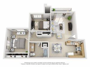 Laurel, Upstairs