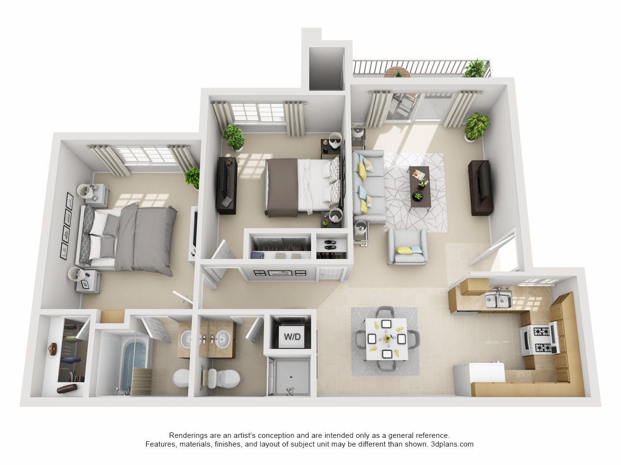 Hazel, Upstairs Floor Plan 6