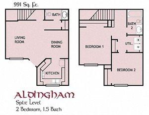 Aldingham, Townhouse
