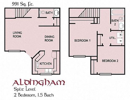 Aldingham, Townhouse Floor Plan 6
