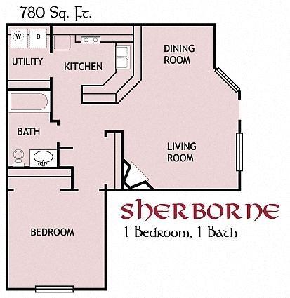 Sherborne, Upstairs Floor Plan 5