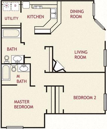 Woodsford, Downstairs Floor Plan 9