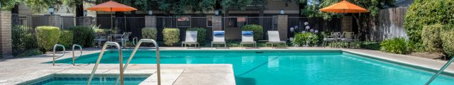 Swimming Pool at Walnut Woods Apartment Homes in Turlock, CA