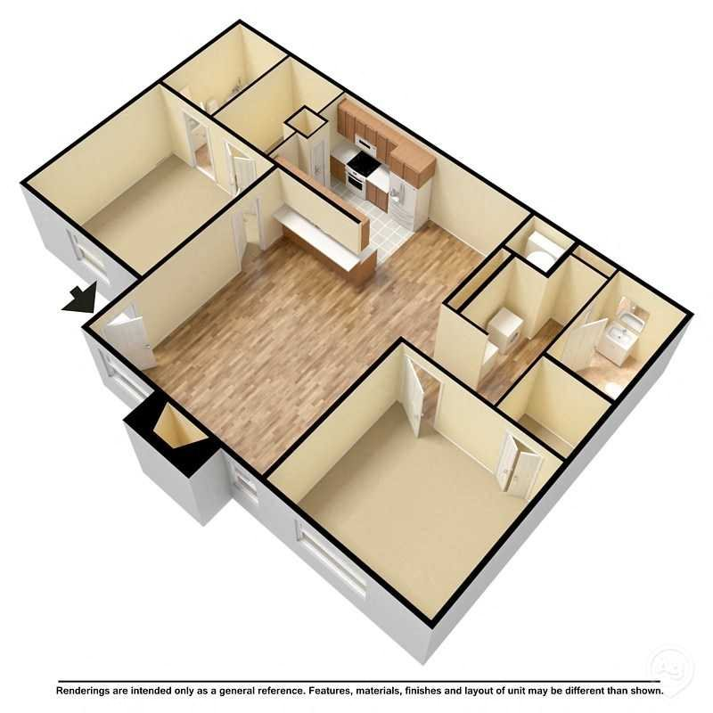 Bungalow Floor Plan 3