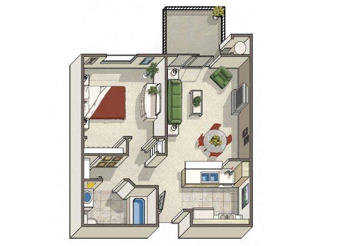 Apartments in Dublin CA l Dublin Ranch Senior Apartments ...