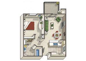 One Bedroom Apartments in Dublin CA l Oak Grove Apartments