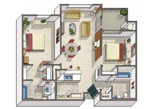 Two Bedroom Apartments in Dublin CA l Oak Grove Apartments