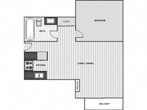 Junior One Bedroom Plus