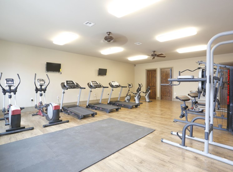 community fitness center Homestead Apartments in Hobbs, NM