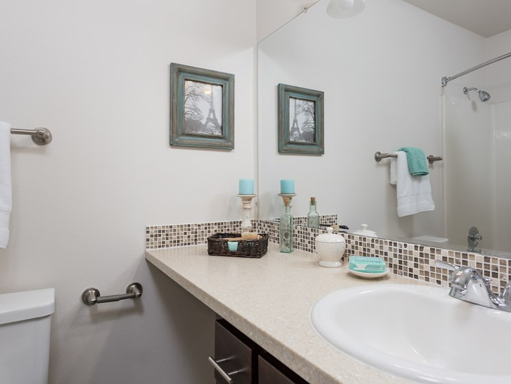 Oswego Cove Apartments | Bathroom