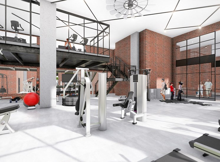 24 Hour Fitness and Strengthening Center at 915 Glenwood Apartment Homes, near East Atlanta, 30316