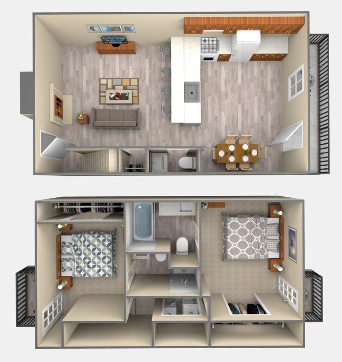 2 Bedroom San Jacinto