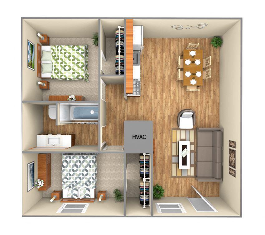 2 Bedroom LG