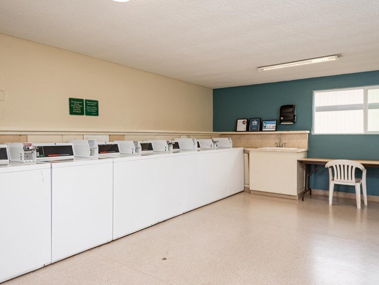 Two Bedroom Laundry Facilities